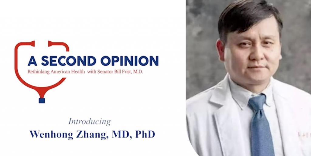 Coronavirus Dr. Wenhong Zhang