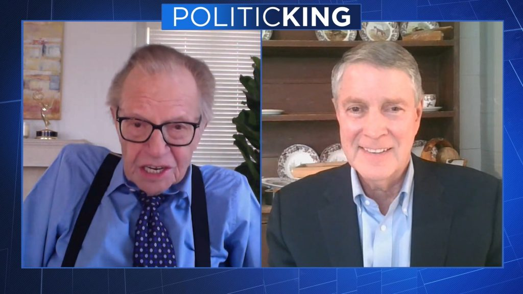 Larry King and Senator Frist