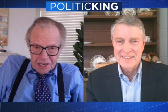 Larry King and Senator Frist